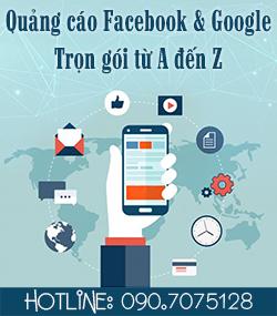 Quảng cáo google và facebook